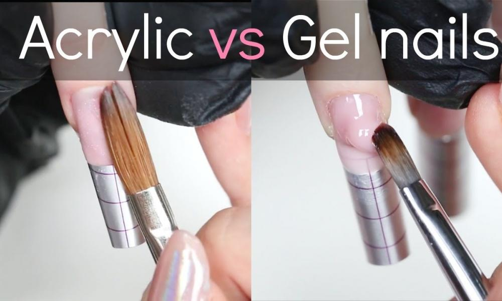 What's The Difference Between Gel Nail Extensions And Acrylics?